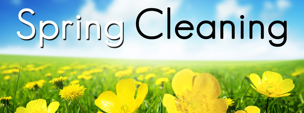 Donu0027t Mix Up Regular Cleaning Tasks With Spring Cleaning Tasks.